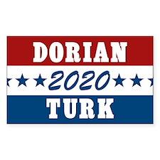 Scrubs Vote Dorian/Turk 2016 Decal