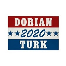 Scrubs Vote Dorian/Turk 2016 Rectangle Magnet