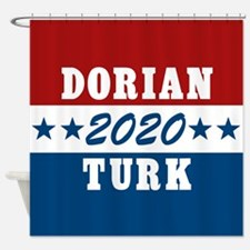 Scrubs Vote Dorian/Turk 2016 Shower Curtain