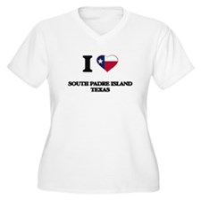 I love South Padre Island Texas Plus Size T-Shirt