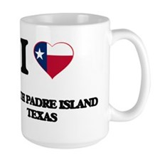I love South Padre Island Texas Mugs