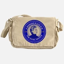 A Woman's Place is in the Oval Offic Messenger Bag