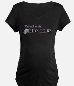 Aaliyah is the Bride to Be T-Shirt