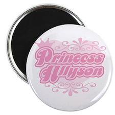 """Princess Allyson"" Magnet"
