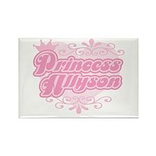 """Princess Allyson"" Rectangle Magnet"