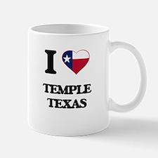 I love Temple Texas Mugs