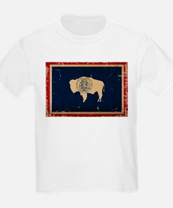 Wyoming Flag VINTAGE T-Shirt