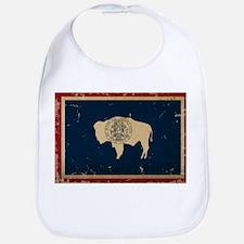 Wyoming Flag VINTAGE Bib