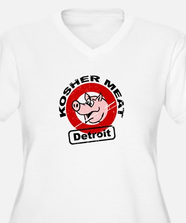 Kosher Meat Pig - Detroit T-Shirt