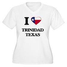 I love Trinidad Texas Plus Size T-Shirt