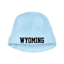 Wyoming Jersey Black baby hat