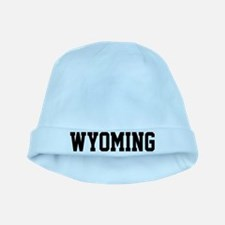 Wyoming Jersey Black baby hat