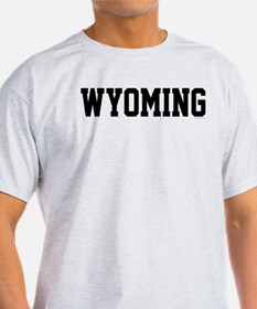 Wyoming Jersey Black T-Shirt