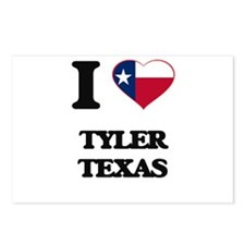 I love Tyler Texas Postcards (Package of 8)