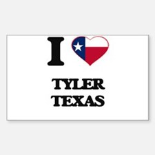 I love Tyler Texas Decal