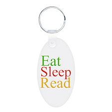 Eat Sleep Read Keychains