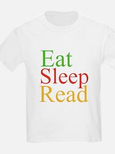 Eat Sleep Read T-Shirt