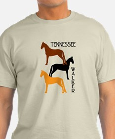 Tennessee Walkers in Colors T-Shirt