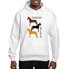 Tennessee Walkers in Colors Hoodie