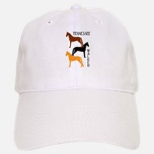 Tennessee Walkers in Colors Baseball Baseball Cap