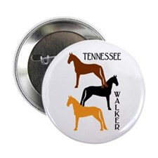 Tennessee Walkers in Colors Button