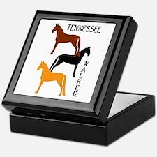 Tennessee Walkers in Colors Keepsake Box