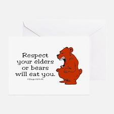 Respect Elders Greeting Card