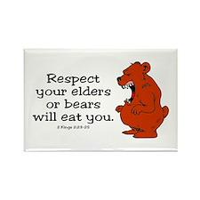Respect Elders Rectangle Magnet (10 pack)