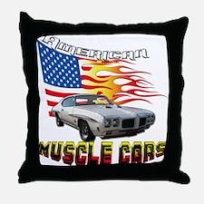 1970 GTO Throw Pillow