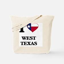 I love West Texas Tote Bag