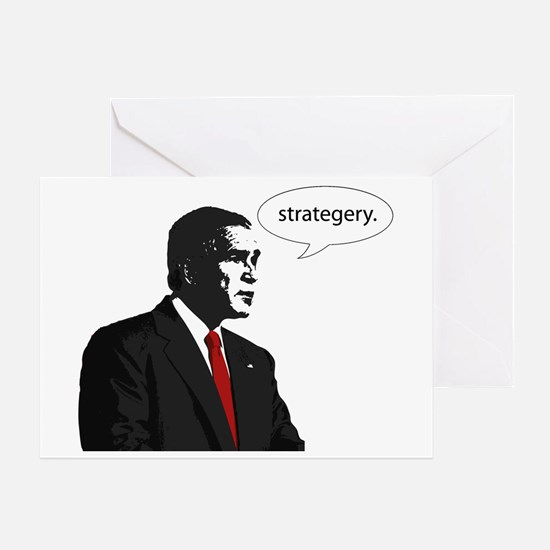 Strategery Greeting Card