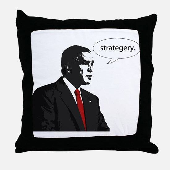 Strategery Throw Pillow