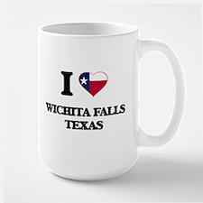I love Wichita Falls Texas Mugs