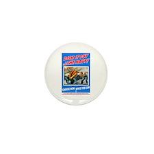Choose Navy Mini Button (10 pack)