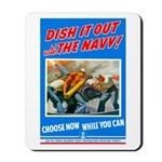 Choose Navy Mousepad