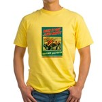 Choose Navy (Front) Yellow T-Shirt