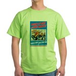 Choose Navy (Front) Green T-Shirt