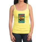 Choose Navy Jr. Spaghetti Tank