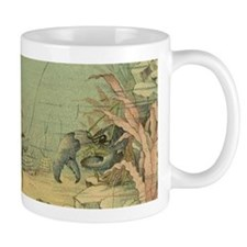 Vintage Marine Life, Shrimp Mugs