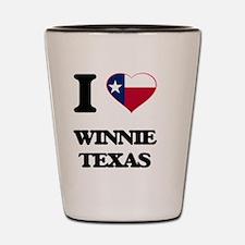 I love Winnie Texas Shot Glass