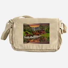 Wells Fargo Stagecoach Messenger Bag