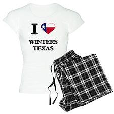 I love Winters Texas Pajamas