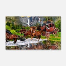 Wells Fargo Stagecoach Wall Decal