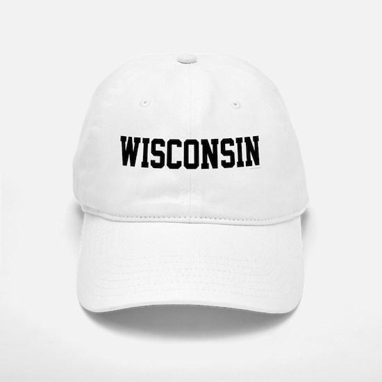Wisconsin Jersey Black Baseball Baseball Cap