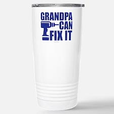 Grandpa Can Fix It Travel Mug