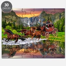 Wells Fargo Stagecoach Puzzle