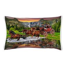 Wells Fargo Stagecoach Pillow Case