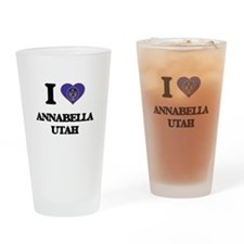 I love Annabella Utah Drinking Glass