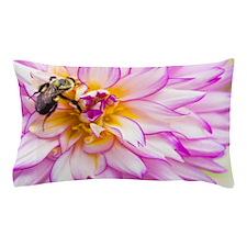 """Bee"" Mine Dahlia Pillow Case"