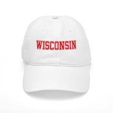 Wisconsin Jersey Red Baseball Cap